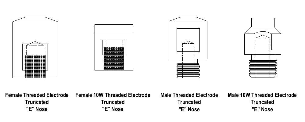 CMW Threaded Electrodes